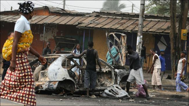 В Кот-д\'Ивуаре не прекращаются беспорядки