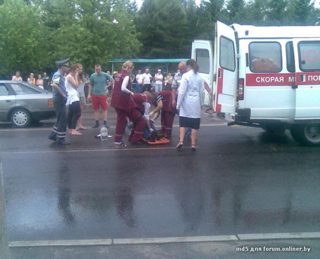В Минске опять сбили пешехода