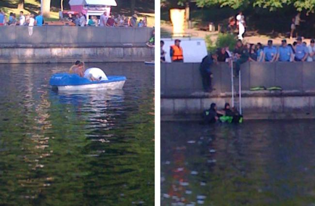 В Парке Горького утонул человек
