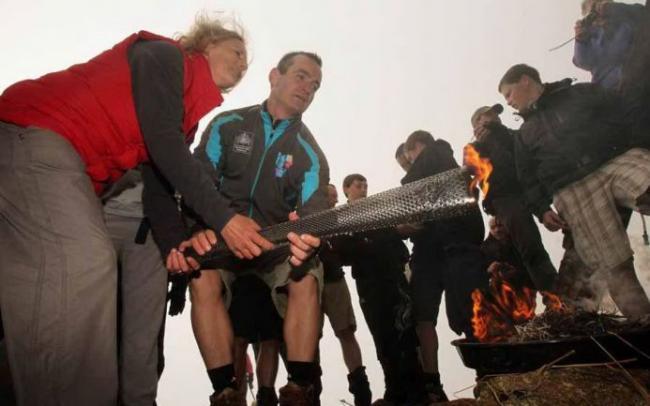 В Шотландии зажжен паралимпийский огонь