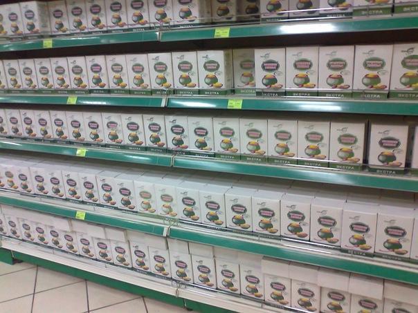 В белорусских магазинах навалом каши