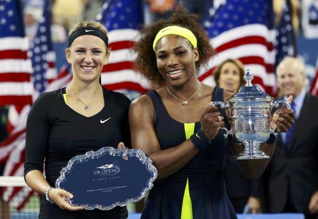 Виктория Азаренко уступила Серене Уильямс в финале US Open