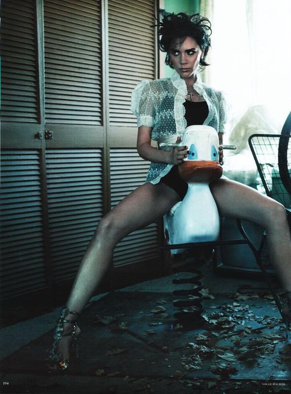 Виктория Бэкхэм в Vogue Germany