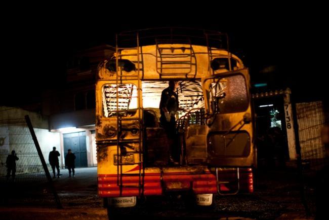 Взрыв автобуса в Гватемале