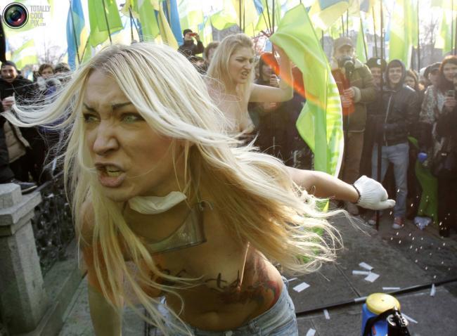 Femen в Киеве