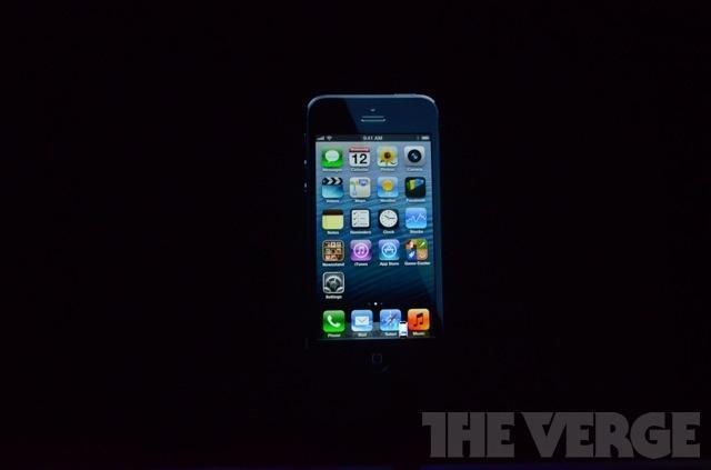 iPhone 5 наконец-то официально представлен