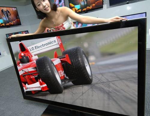 LG 72LEX9 - самый большой в мире 3D-телевизор