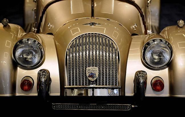 Morgan Roadster на выставке LA Auto Show