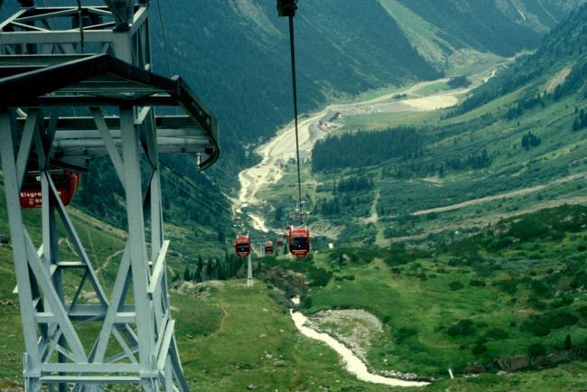 Stubai - горные вершины качества
