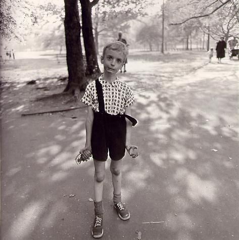 Diane Arbus  -Take the picture already!-