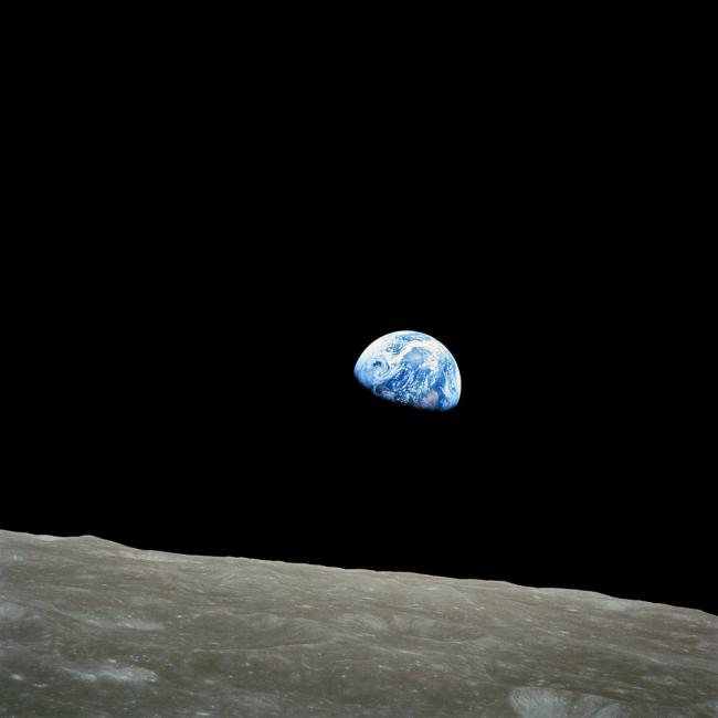 William Anders -Earthrise-