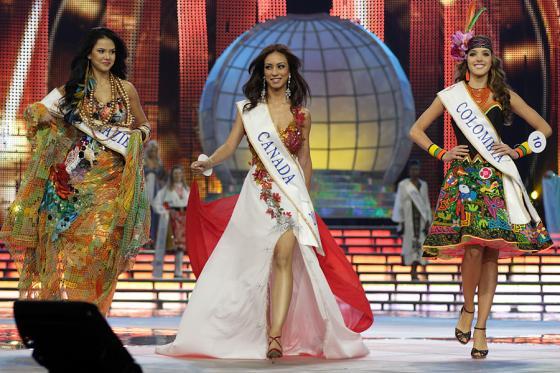Miss Intercontinental Beauty Pageant 2009 in Minsk, Belarus.