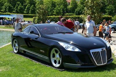 Maybach Exelero - авто за 8 млн долларов
