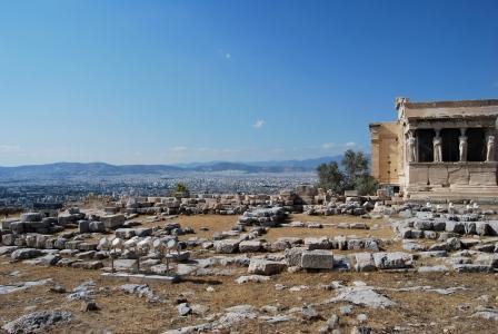 Гуляя по Акрополю и в окрестностях