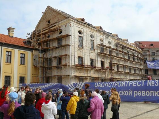 Несвижский замок. Реставрация
