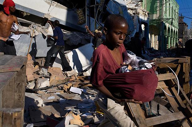 victims of haiti essay