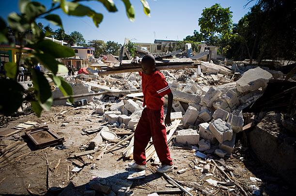 essays on earthquake in haiti