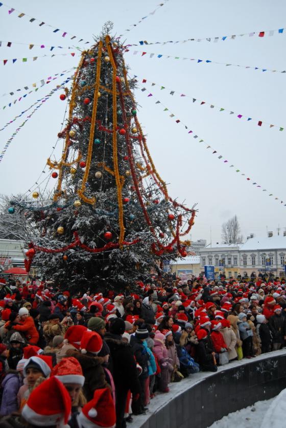 Парад Николаев в Ужгороде
