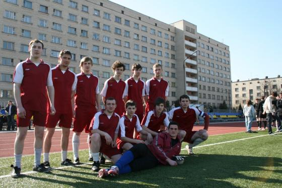 Минская Лига Футбола...