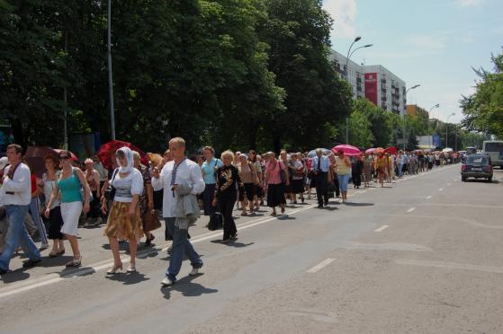 Крестный ход в Ужгороде