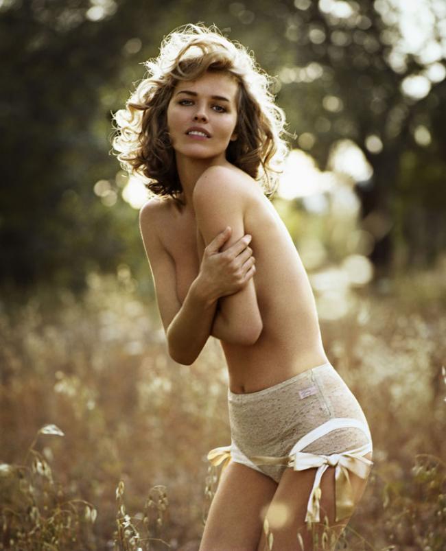Ева Герцигова (Eva Herzigova) для GQ Italy - YouSmi.