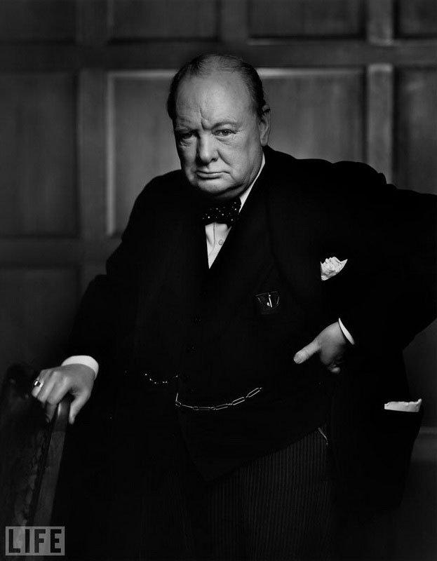 Уинстон Черчилль (Winston Churchill). Yousuf Karsh, 1941