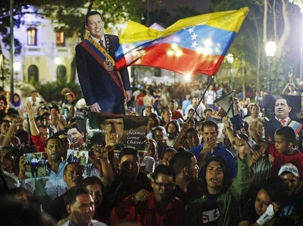 Народ Венесуэлы скорбит по Уго Чавесу