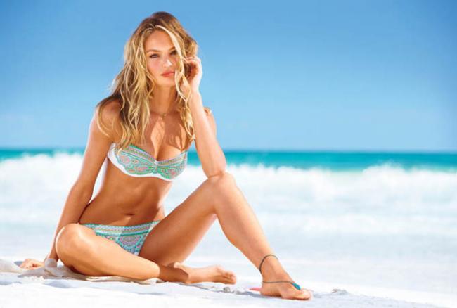 Victoria's Secret выпустили второй каталог купальников 2013 года