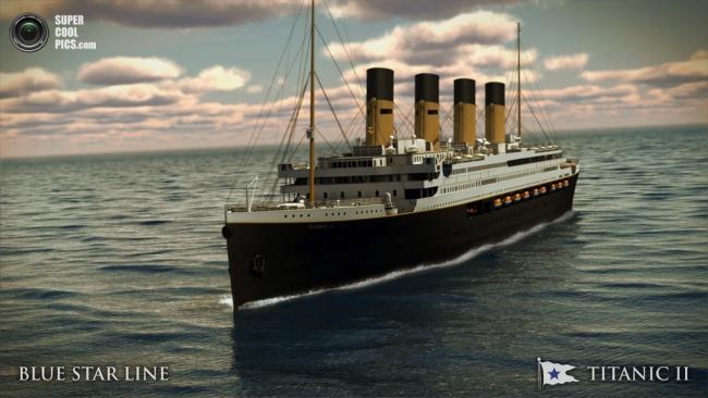 Клайв Палмер объявил о постройке полномасштабной реплики «Титаника»