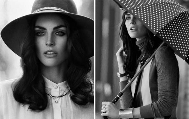 Актриса Хилари Рода снялась в черно-белой фотосессии для DuJour Magazine