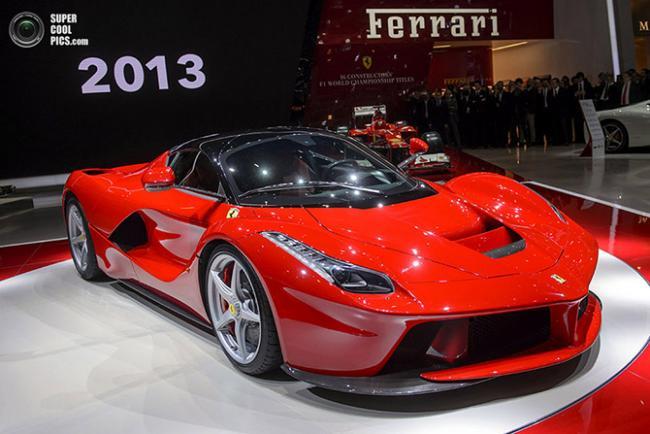 На Женевском автосалоне был представлен Ferrari-гибрид