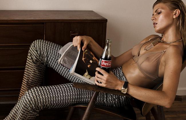 Белорусская супермодель Марина Линчук в откровенной фотосессии для 25 Magazine