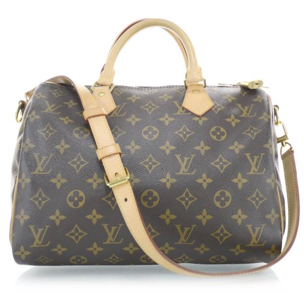Женская сумка Louis Vuitton Speedy Bandouliere, Monogram canvas (Луи Виттон Спиди Бандольер Монограм Канвас)