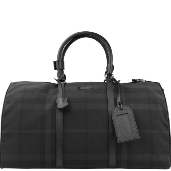 Мужская сумка Burberry Beat Check Holdall (Бёрберри Бит Чек Холдол)