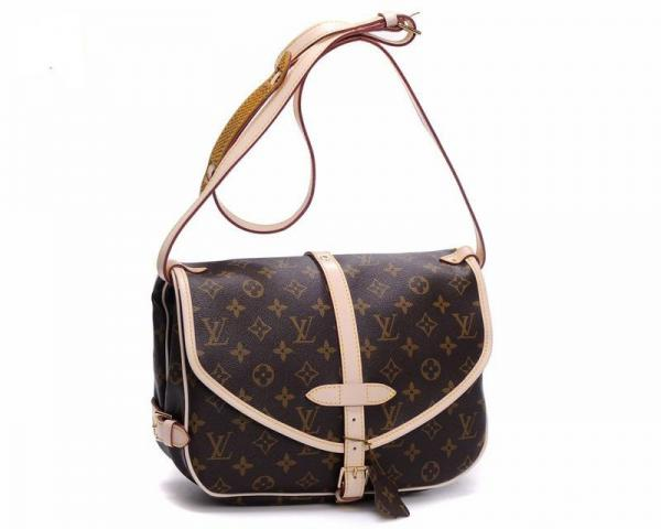 Женская сумка Louis Vuitton Saumur, Monogram Canvas (Луи Виттон Сомюр Монограм Канвас)