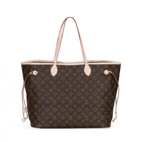 Женская сумка Louis Vuitton Neverfull, Monogram Canvas (Луи Виттон Неверфул монограм канвас)