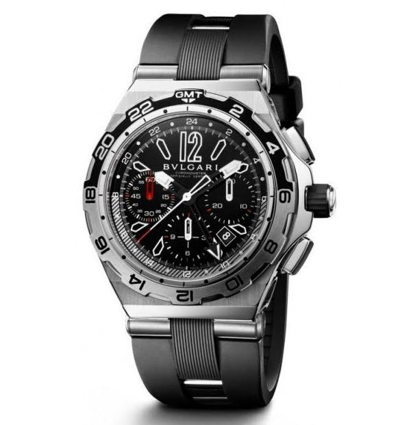 Часы Diagono Professional Chronograph GMT от Bvlgari   Модель №131.23