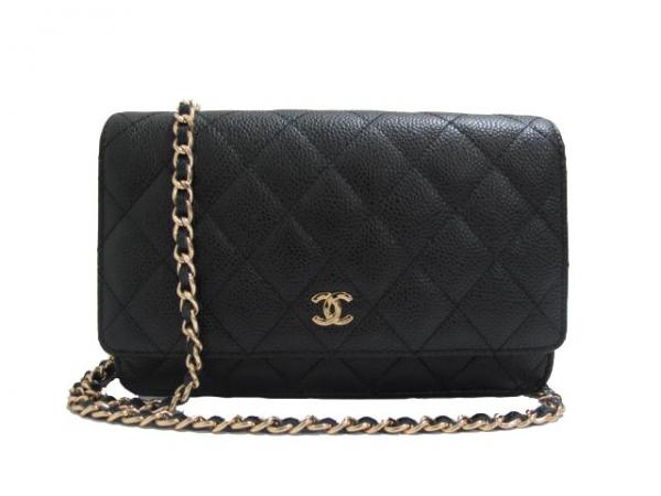 Женская сумка Chanel Wallet On Chain (WOC) (Шанель Волет он чейн (ВОК))